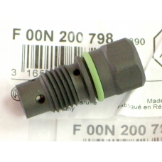 Рено Трафик Опель Виваро перепускной клапан топливного насоса тнвд BOSCH F00N200798 редукционный клапан