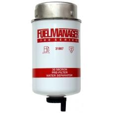 """Дизельный фильтр сепаратор Фильтрующий элемент 30 Мк 5,1"""" 31867 FM 100"""