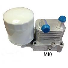 Радиатор масляный Теплообменник (d=10mm) Форд Коннект Ford Connect 1.8 TDCi SMC 7T1Q6B624AA