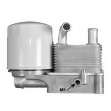 Радиатор масляный Теплообменник (d=8mm) Ford Connect 1.8 TDCi Форд Коннект 2M5Q6B624BD