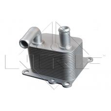 Радиатор масляный Теплообменник (d=8mm) Ford Connect 1.8 TDCi Форд Коннект NRF 31219