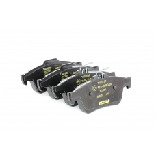 Комплект тормозные колодки Ford Connect 1.8 TDCi Форд Коннект TEXTAR 2413701 задний мост